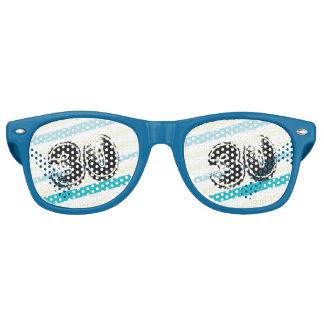 30 yr Bday Striped 30th Birthday
