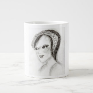 30s Girl Large Coffee Mug