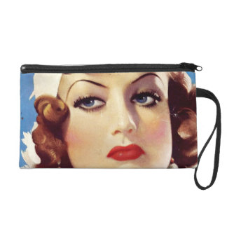 30s JCrawford Mag Cover Wrislet Wristlet Clutches