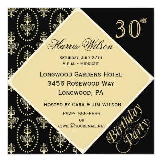 30th-39th Birthday Invitations