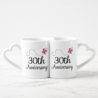 30th Anniversary Couples Mugs