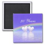 30th Anniversary Pearl Hearts