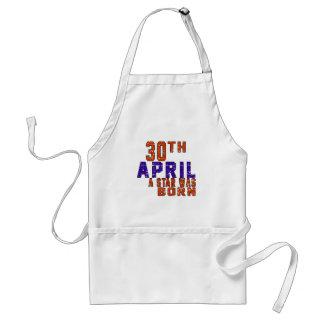 30th April a star was born Apron