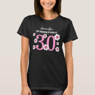 30th Birthday Blooming at Thirty V03 T-Shirt