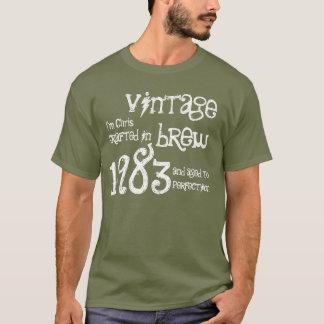 30th Birthday Gift 1983 Vintage Brew Army G213 T-Shirt