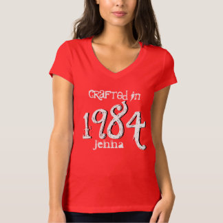30th Birthday Gift  1984 or Any Year For Her V003A Shirts