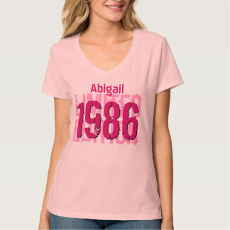 30th Birthday Gift 1986 Limited Edition V65H Tee Shirt