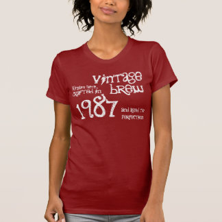 30th Birthday Gift 1987 or Any Year Vintage S06 Tshirts