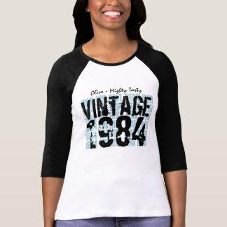 30th Birthday Gift Best 1984 Vintage Grunge V005 Tshirts