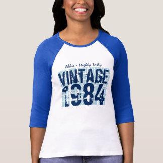 30th Birthday Gift Best 1984 Vintage Grunge V006 T-Shirt