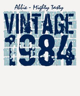 30th Birthday Gift Best 1984 Vintage Grunge V006 T Shirts