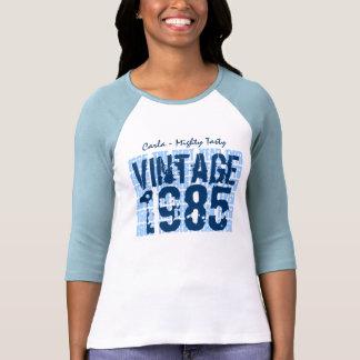 30th Birthday Gift Best 1985 Vintage Grunge V007D Tees