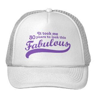 30th Birthday Mesh Hats
