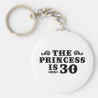 30th Birthday Keychains