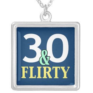30th Birthday Necklace