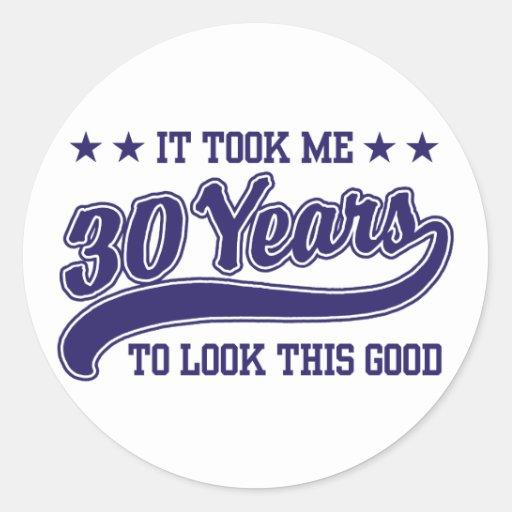 30th Birthday Sticker