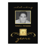 30th Birthday Surprise Party Invitations - Formal