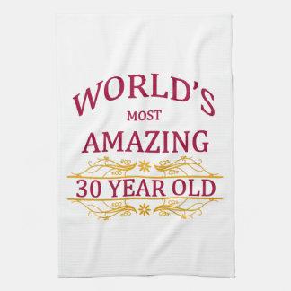 30th. Birthday Tea Towel