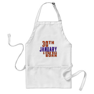 30th January a star was born Apron