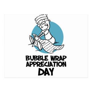 30th January - Bubble Wrap Appreciation Day Postcard