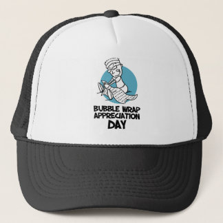 30th January - Bubble Wrap Appreciation Day Trucker Hat