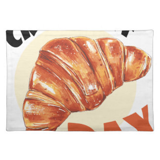 30th January - Croissant Day Placemat
