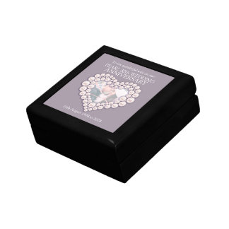 30th pearl wedding anniversary photo wife gift box