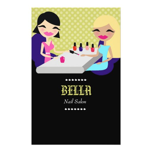 311-Bella Nail Salon Flyer