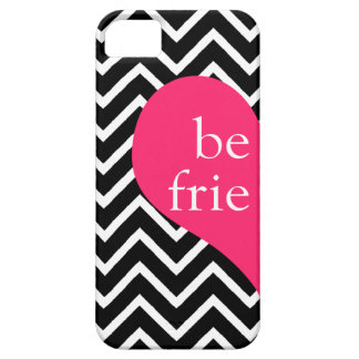 311 Best Friends Heart Chevron Left Side iPhone 5 Cases