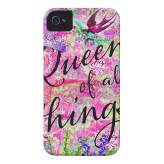 311 Blackberry Curve Queen of all THings Case-Mate iPhone 4 Cases