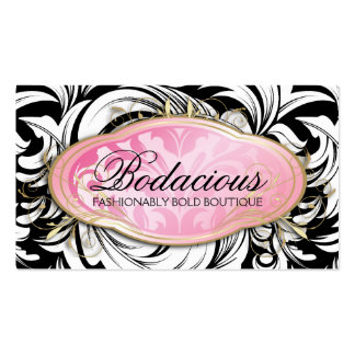311 Bodacious Lavish Boutique Leopard Spots Business Card