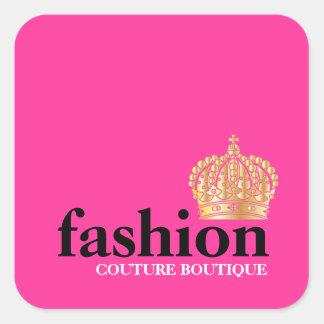 311 Bold Fashion Boutique Tiara Square Sticker