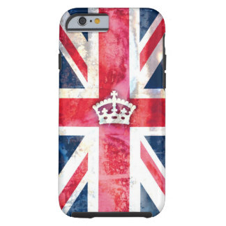 311 British Flag Royal Grunge Tough iPhone 6 Case