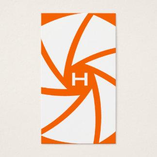 311-CAMERA READY | HOTT Orange Business Card
