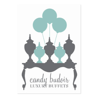 311 Candy Budoir Robin Blue Gray Pack Of Chubby Business Cards