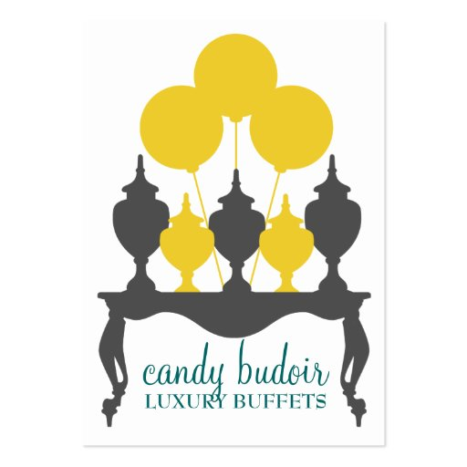 311 Candy Budoir Yellow Gray Business Card Templates