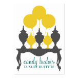 311 Candy Budoir Yellow Grey Pack Of Chubby Business Cards
