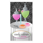 311-Candy Caterer Business Card Templates