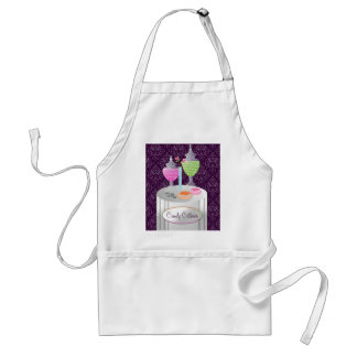 311-Candy Caterer | Purple Standard Apron