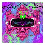 311 Candy Wonderland Pink Sweet 16 13cm X 13cm Square Invitation Card
