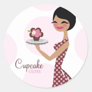 311-Carlie the Cupcake Cutie Sticker