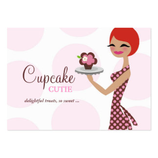 311 Cherrie the Cupcake Cutie Chubby Business Card