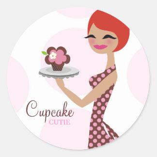 311-Cherrie the Cupcake Cutie Sticker