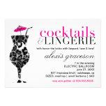311 Cocktails & Lingerie Custom Invite