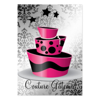 311 Couture Gâteaux Punch Card Pack Of Chubby Business Cards
