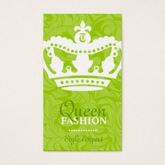 311-Crown Couture Monogram Lime