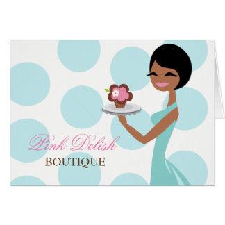 311 Cupcake Cutie Carmella Aqua Card