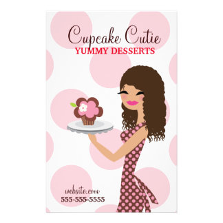 311 Cupcake Cutie Curly Brown Hair Flyer