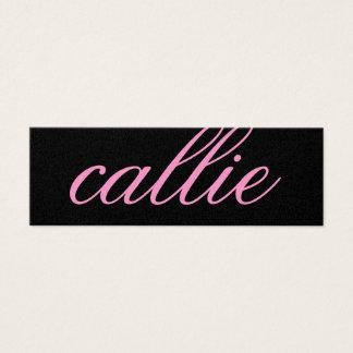 311 Custom Name Business Card Sweet Pink