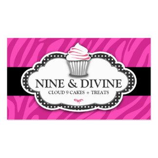 311 Divine Pink Zebra Stripes Pack Of Standard Business Cards